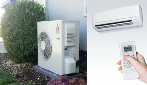 Room Air Conditioner Heater Combo